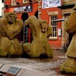 Hurt Statues